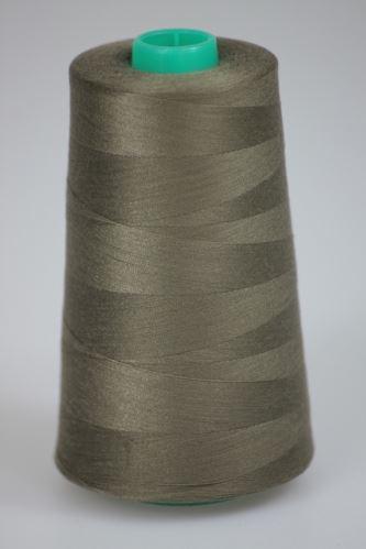 Nit KORALLI polyesterová 120, 5000Y, odstín 7460, hnědá