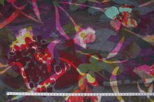 Úplet šedý 15260, farebný vzor š.150