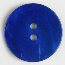 Knoflík perleťový modrý 241113, 13mm