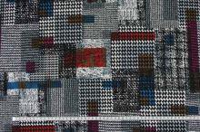 Úplet 15951, barevný vzor, š.145