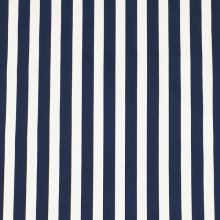Bavlna modro-biely pruh, š.145
