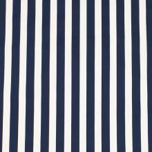 Bavlna modro-bílý pruh, š.145
