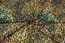 Úplet žlto-zelený zvierací vzor š.145