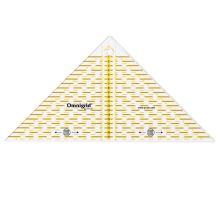 Pravítko Prym Omnigrid, trojuholník pre patchwork, 20 cm