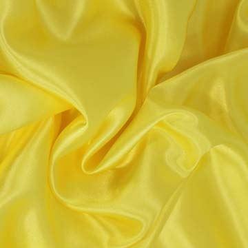 Podšívka saténová, citrónově žlutá š.150