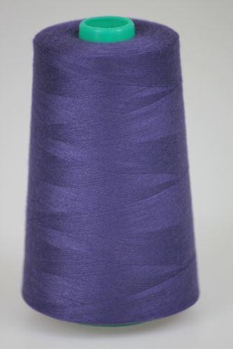 Niť KORALLI polyesterová 120, 5000Y, odtieň 4280, fialová