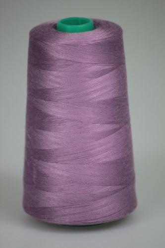 Niť KORALLI polyesterová 120, 5000Y, odtieň 4540, fialová