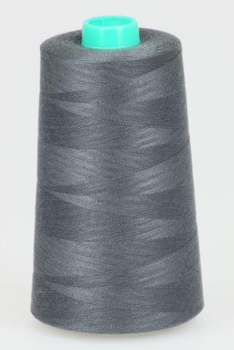 Niť KORALLI polyesterová 120, 5000Y, odtieň 9475, šedá