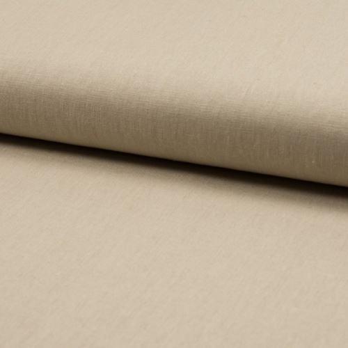 Ľanová kostýmovka, béžová, š.130