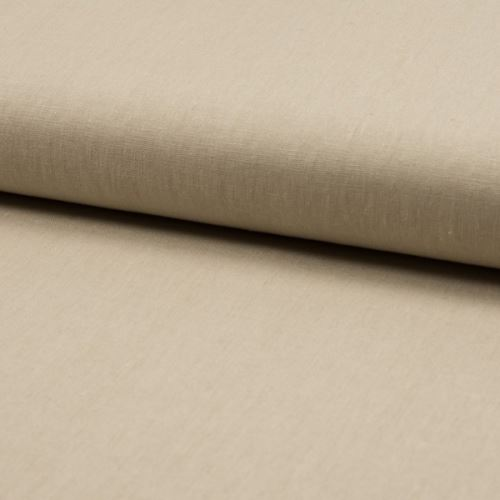 Lněná kostýmovka, béžová, š.130