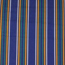 Lehátkovina modrá, barevný pruh, š.45