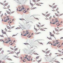 Kostýmovka biela, kvetinový raport, š.140