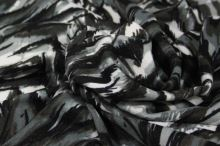 Úplet barevný 18525, šedý vzor, š. 150