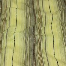 Košilovina zelená, hnědá pruh, š.145