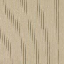 Bavlna béžová, hnědý pruh š.135