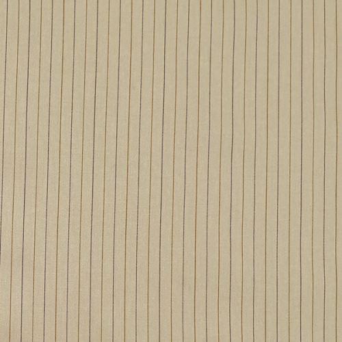 Bavlna béžová, hnedý pruh š.135