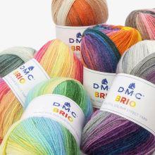 Příze BRIO 100g, barevný mix - odstín 404