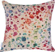 Dekorační polštář barevné skvrny, 45x45 cm