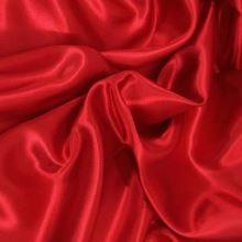Podšívka saténová červená š.150