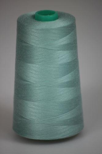 Niť KORALLI polyesterová 120, 5000, odtieň 5130, modrá-zelená