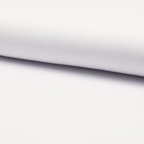 Úplet žoržet DE LUXE biely, 260g/m, š.150