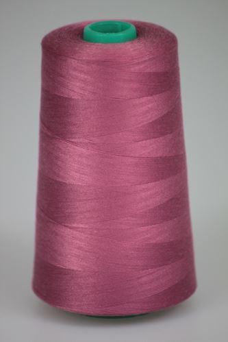 Niť KORALLI polyesterová 120, 5000Y, odtieň 3470, ružová