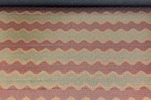 Taft čierny, medeno-bronzová výšivka, š.150