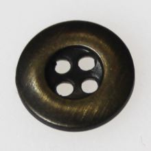 Gombík hnedá patina K18-1, priemer 11 mm.
