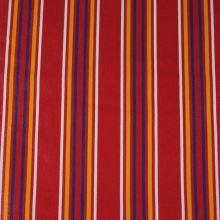 Lehátkovina červená, farebný pruh, š.45
