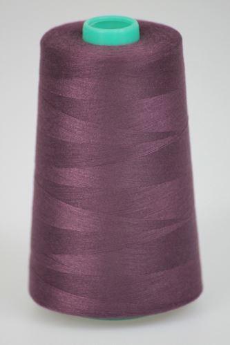 Niť KORALLI polyesterová 120, 5000, odtieň 2765, hnedá