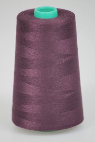 Niť KORALLI polyesterová 120, 5000Y, odtieň 2765, hnedá