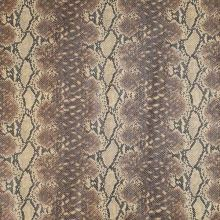 Koženka béžovo-hnědý hadí vzor, š.135