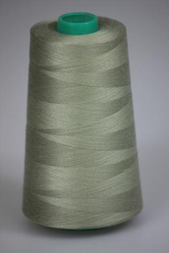 Niť KORALLI polyesterová 120, 5000, odtieň 7140, béžová-zelená