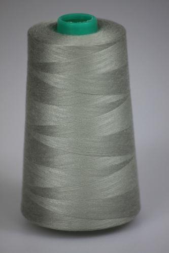 Niť KORALLI polyesterová 120, 5000Y, odtieň 7520, šedá