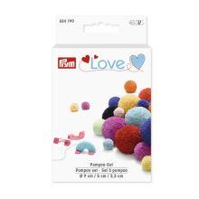 Sada Prym Love na výrobu brmbolcom, 3 veľkosti