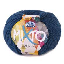 Priadza MIXTO 50g, petrolejová modrá - odtieň 074