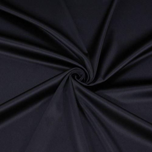 Satén tmavě fialový š.180