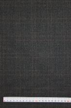 Kostýmovka čierna, hnedé káro, š.135