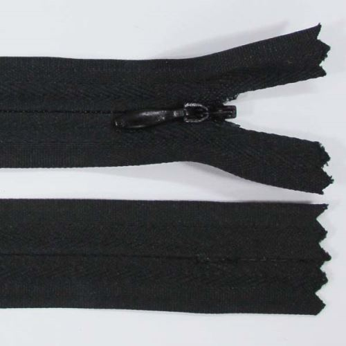 Zip skrytý 3mm délka 45cm, barva 332