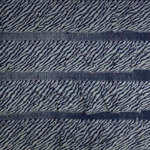 Svetrovina 17284 modrá, volánky, š.120