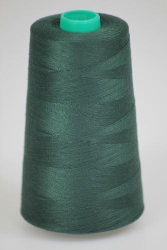 Niť KORALLI polyesterová 120, 5000Y, odtieň 6690, zelená