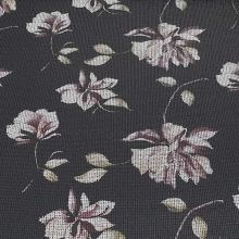 Úplet černý, barevný flitrový vzor, š.150