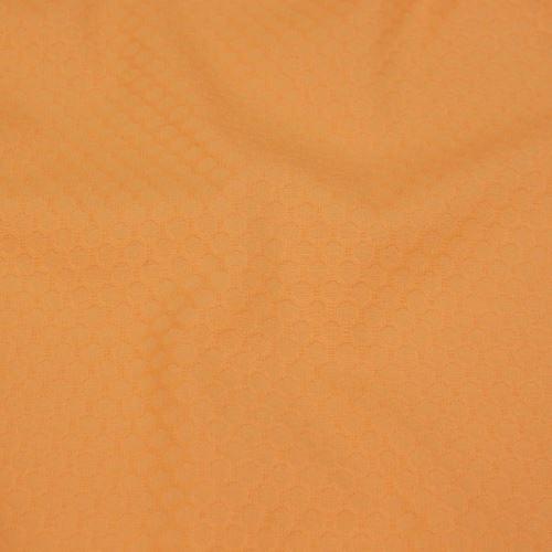 Bavlna meruňková, tkaný vzor, š.155