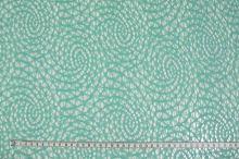 Čipka zelená mentol 15581, š.135