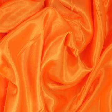 Podšívka saténová oranžová š.150