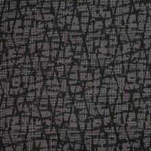 Kabátovina šedo-černý vzor, š.140