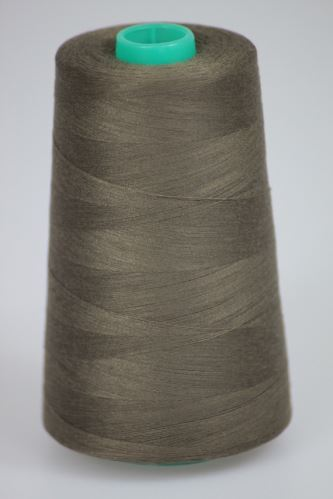 Nit KORALLI polyesterová 120, 5000Y, odstín 6960, hnědá