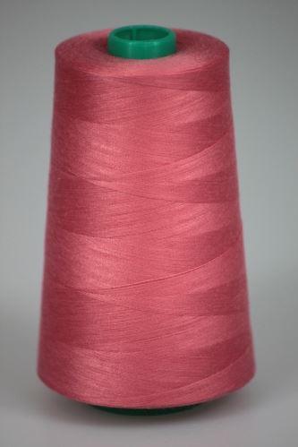 Niť KORALLI polyesterová 120, 5000Y, odtieň 3330, ružová