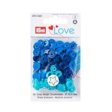 "Patentky Prym Love ozdobné ""Color Snaps"" 393060, 12,4 mm"
