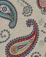 Dekorační látka NATALI, barevný kašmírový vzor, š.280